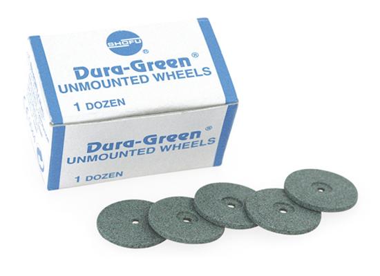 Dura-Green Wheels (Silicon Carbide Grit)