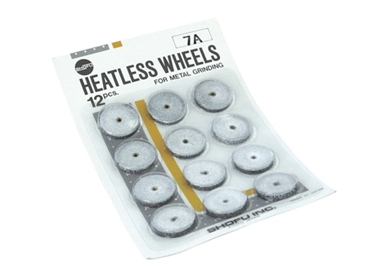 Heatless Wheels (Sprucut-Silicon Carbide Grit)