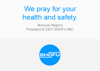 We pray for your health and safety.