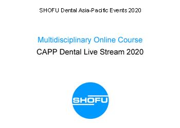 Multidisciplinary Online Course  – CAPP Dental Live Stream 2020
